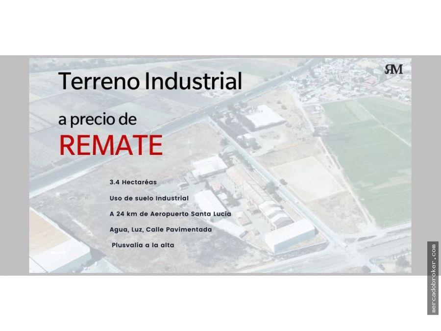 terreno industrial a precio de remate