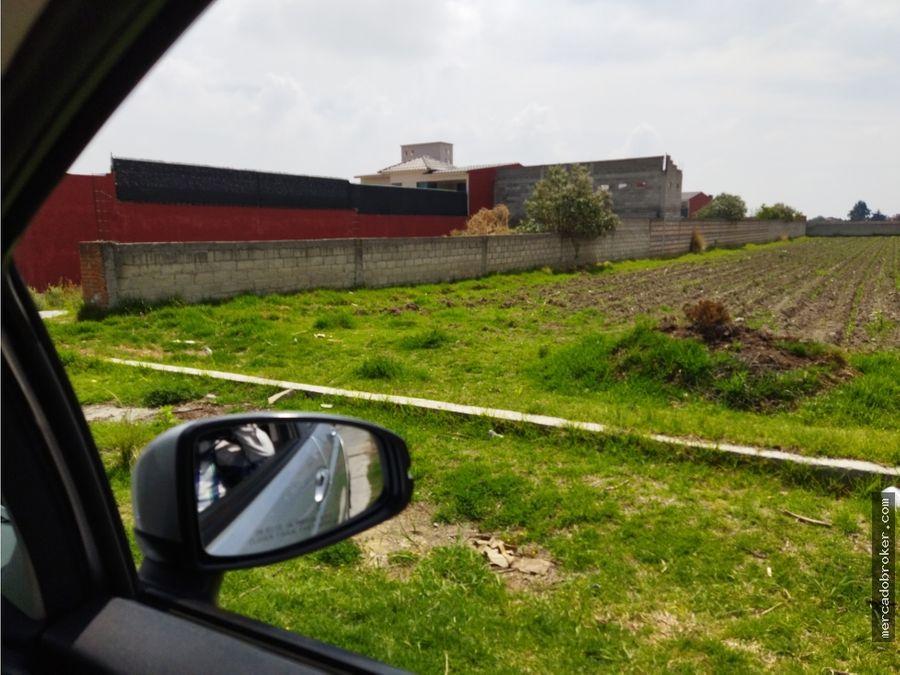 super oportunidad venta de terreno en haciendas de cacalomacan
