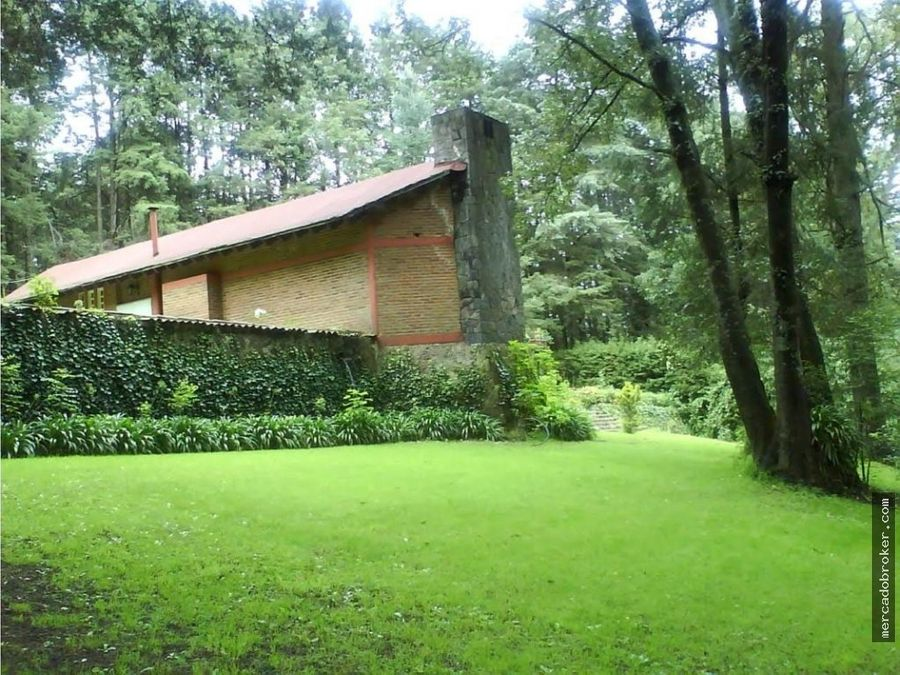 residencia en venta en ex hacienda jajalpa ocoyoacac