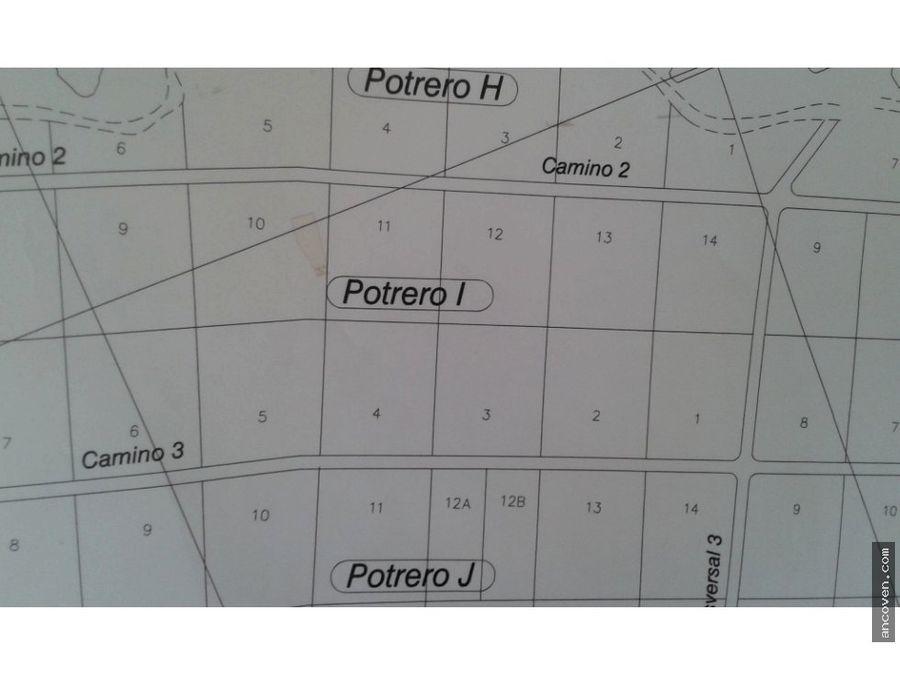ancoven premium vende terreno sabana del medio