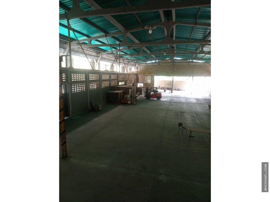 galpon industrial en tinaquillo estado cojede vende ancoven master