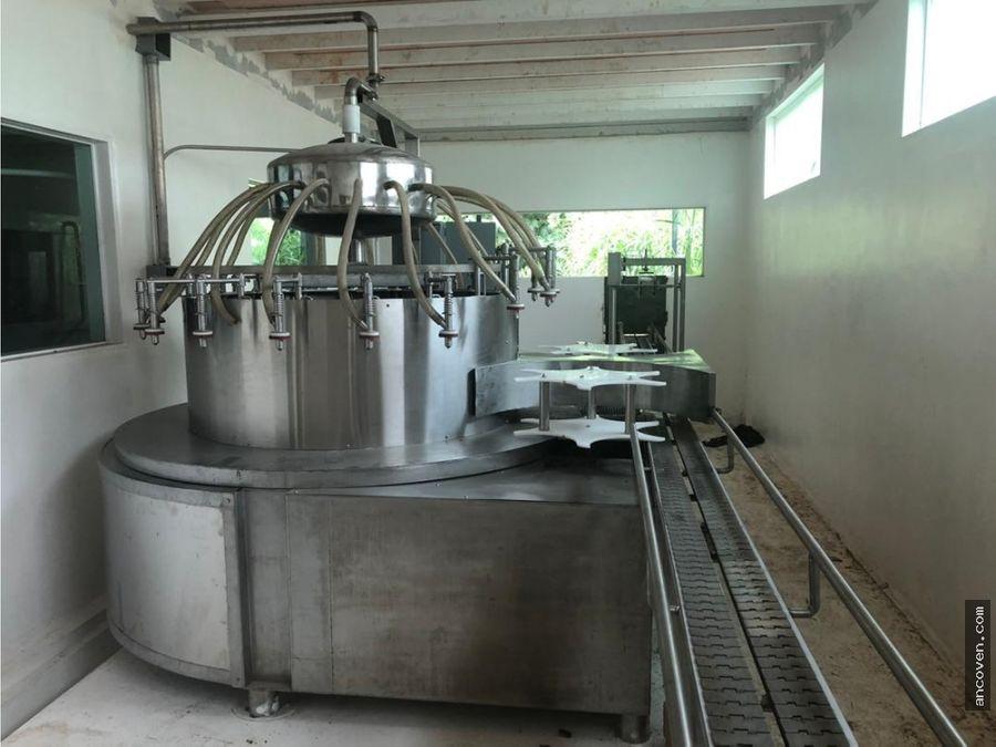 ancoven premium vende planta de agua municipio libertador