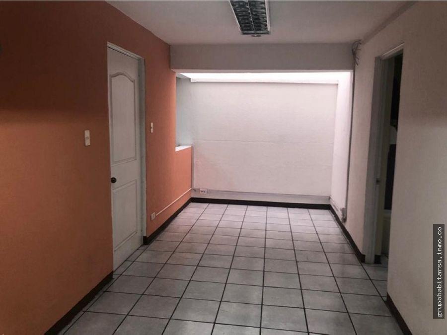 ventaalquiler casa zona 10 para oficinas fuera de garita