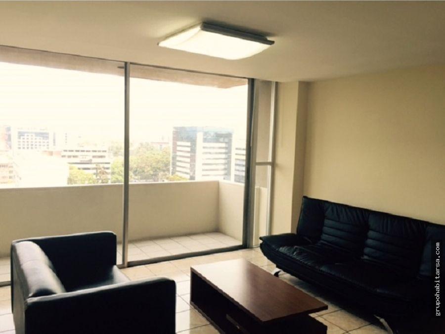 alquilo zona 9 apartamento completamente amueblado