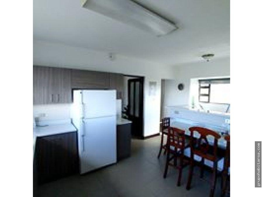 apartamento amueblado zona 15 en piso medio