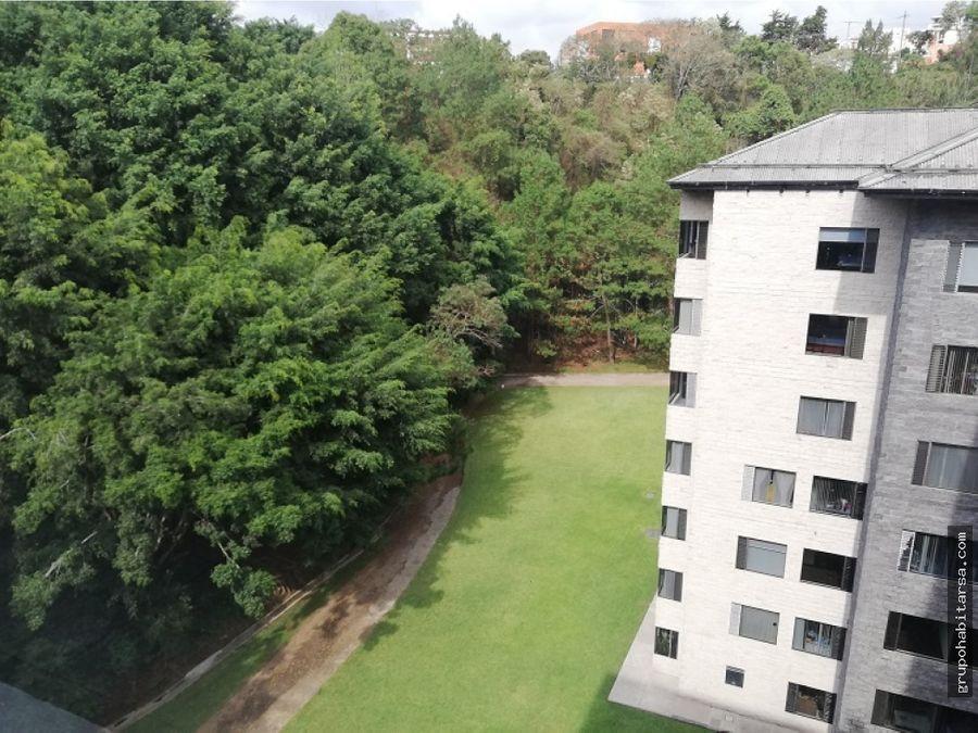 alquilo apartamento zona 10 con bonita vista area verde