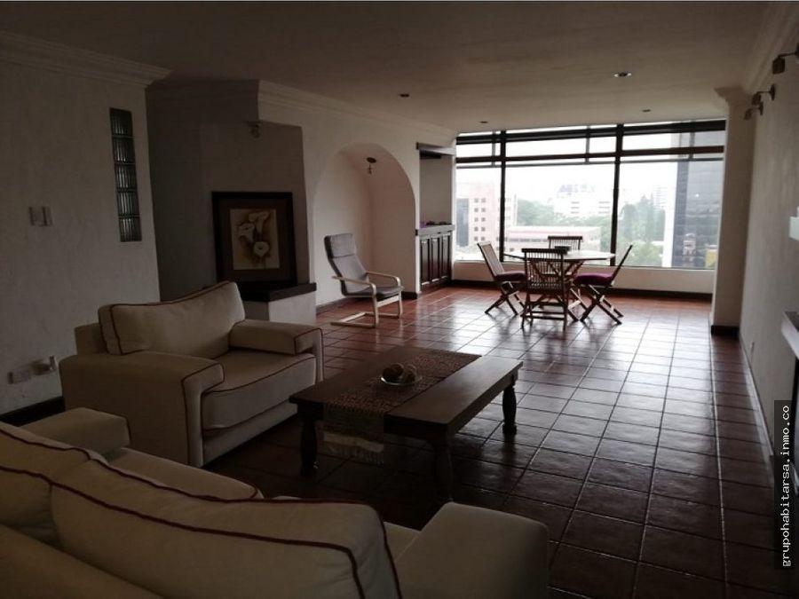 alquiler apartamento amueblado en zona 9 reforma montufar