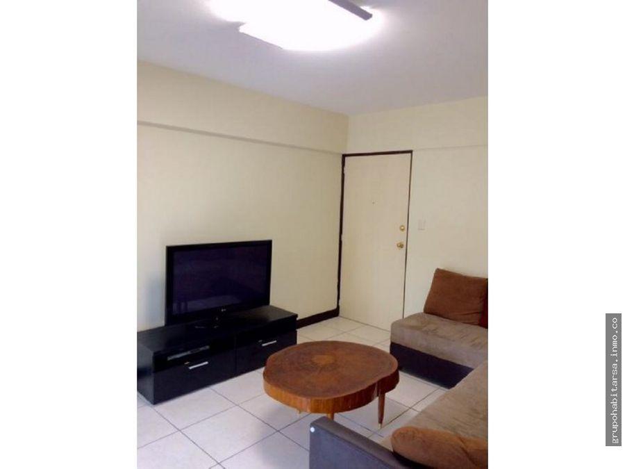 alquilo zona 13 apartamento amueblado area avenida de las americas