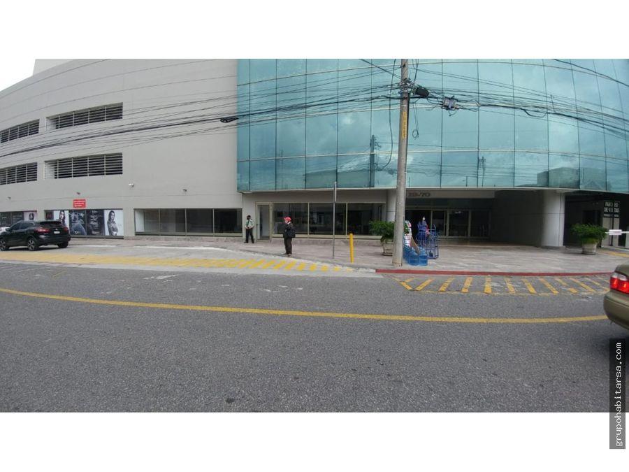 alquilo local comercial zona 10 en ubicacion estrategica