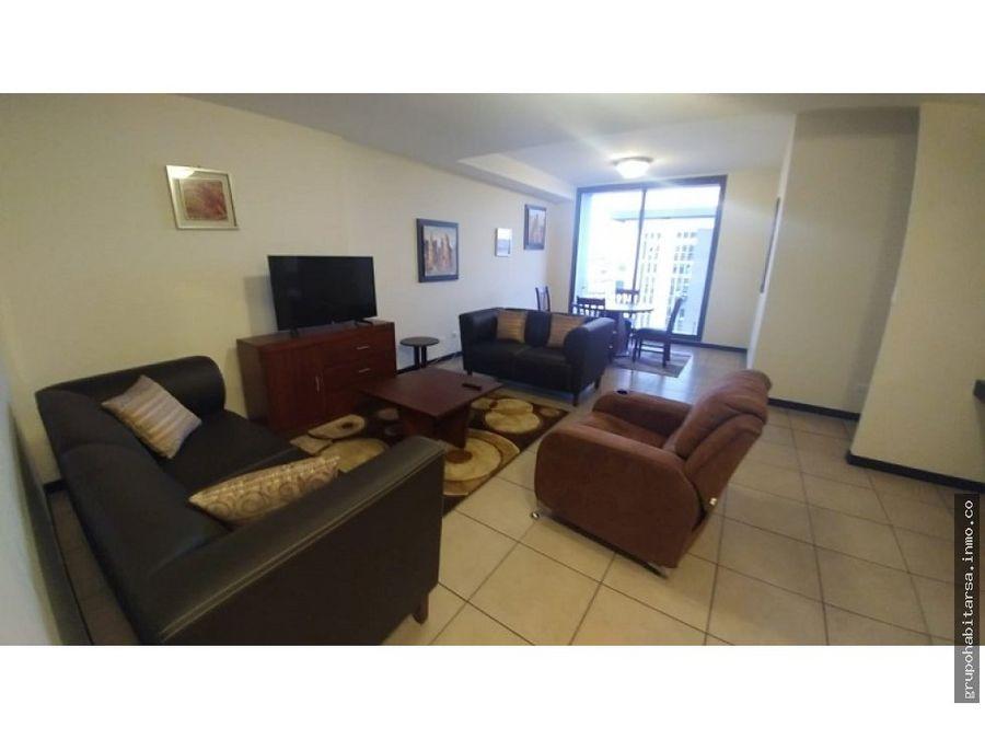 zona 9 alquilo apartamento amueblado con 2 dormitorios