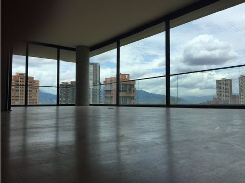 open concept apt w city view in el poblado