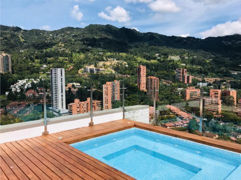 high rise luxury unit in el poblado with spectacular city view
