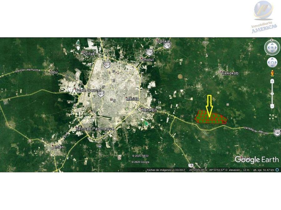 terreno en venta en seye yucatan