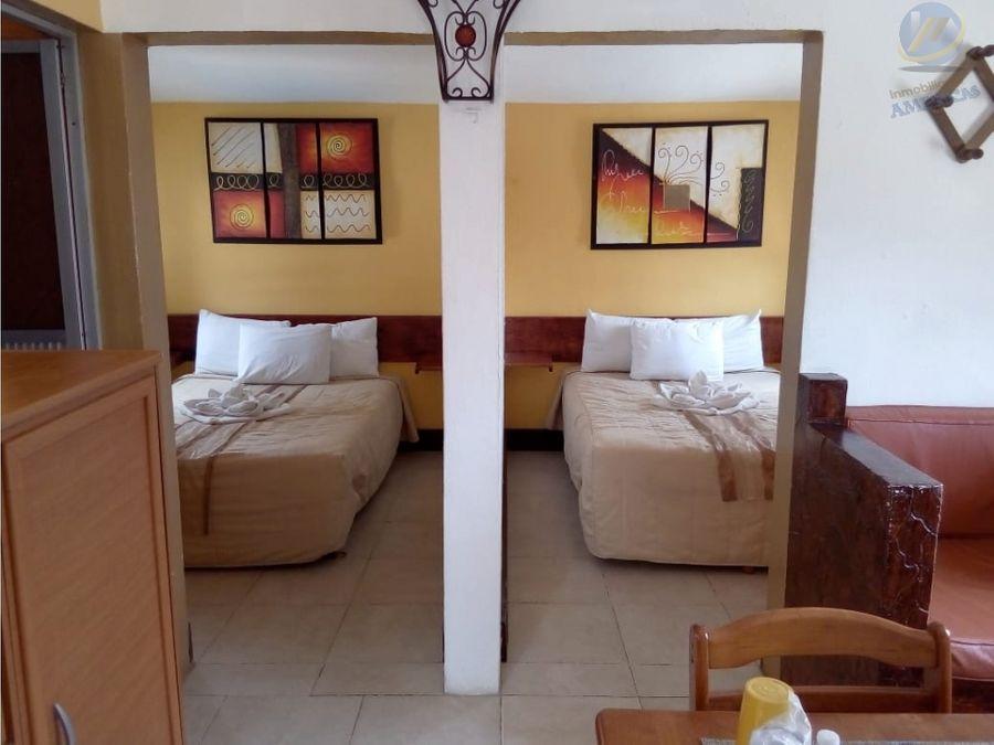 venta hotel posada en champoton campeche