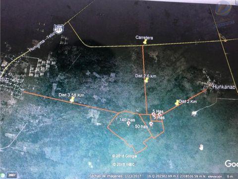100 hectareas en hunucma para inversionistas