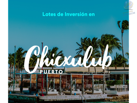 brisas lotes de inversion chicxulub