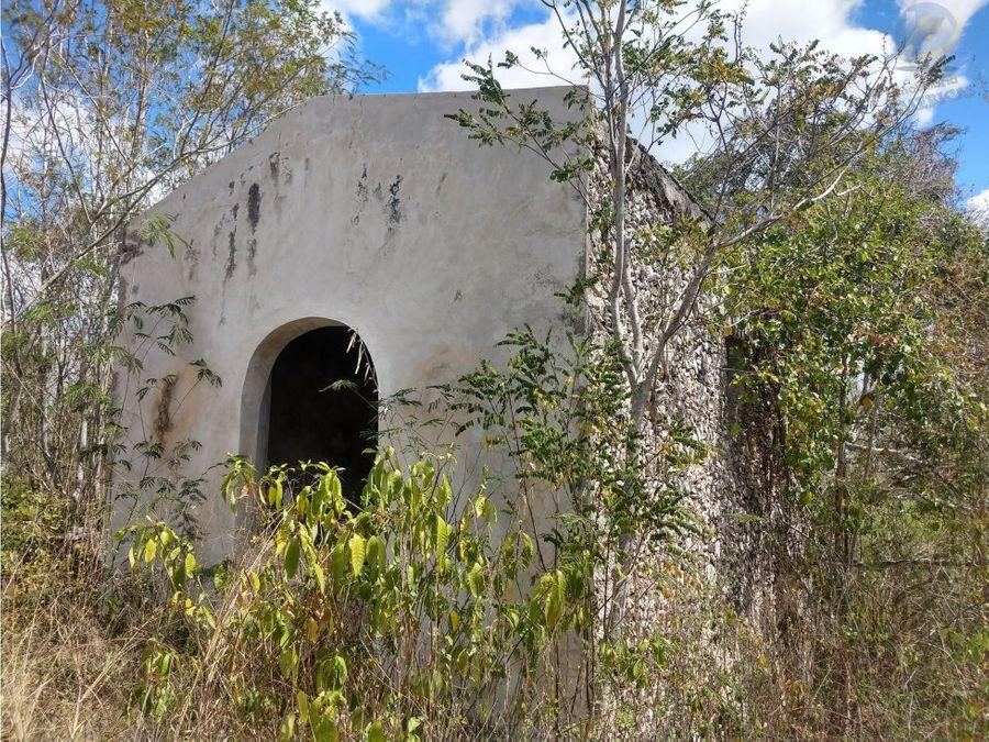 ex rancho en venta al oriente de yucatan a 45min de merida