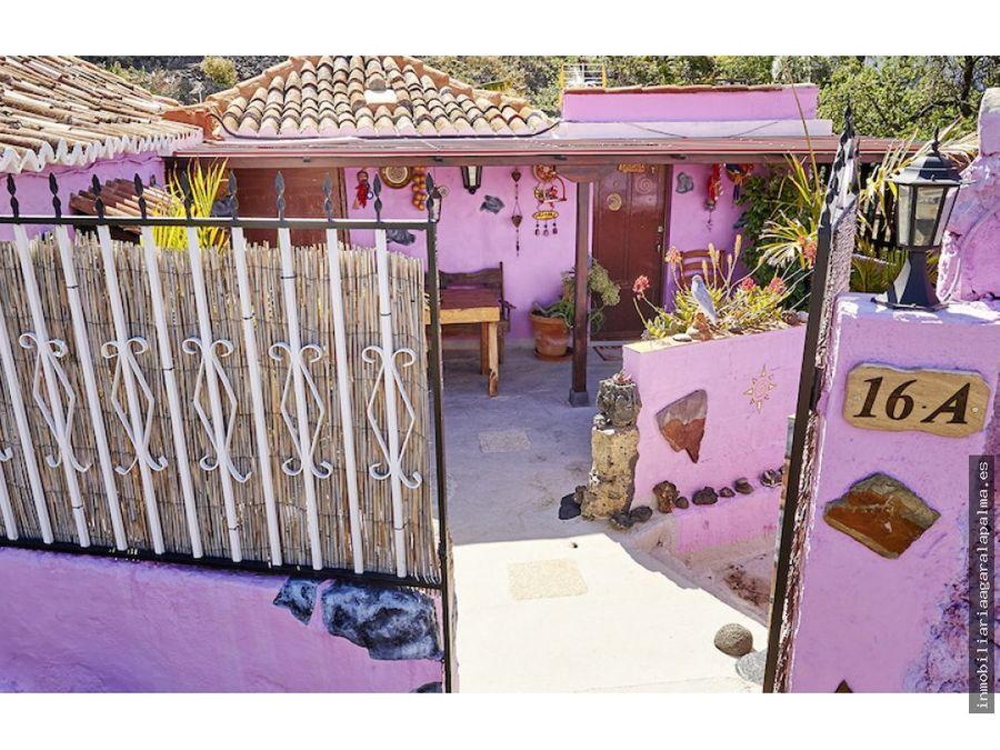 alquiler vacacional de dos casas en el paso