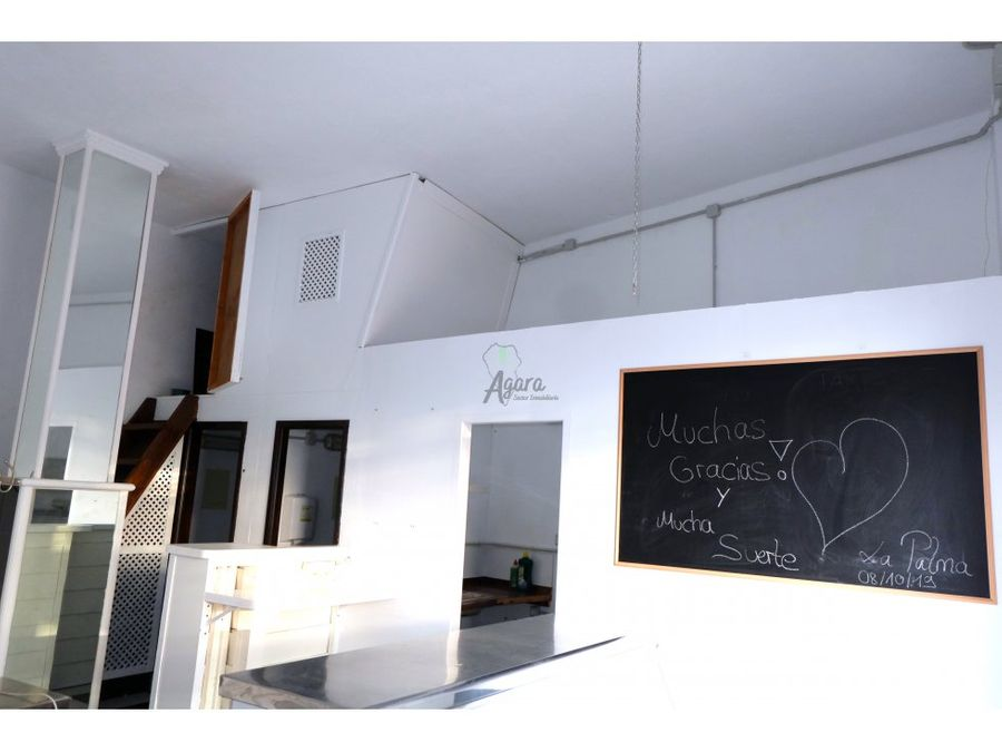 cafeteria en alquiler