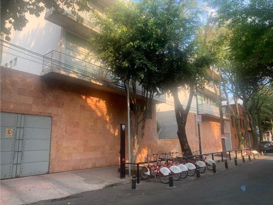 departamento en renta en san miguel chapultepec