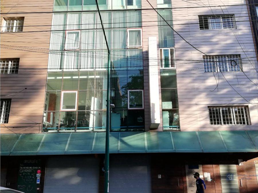 oficina en renta roma sur