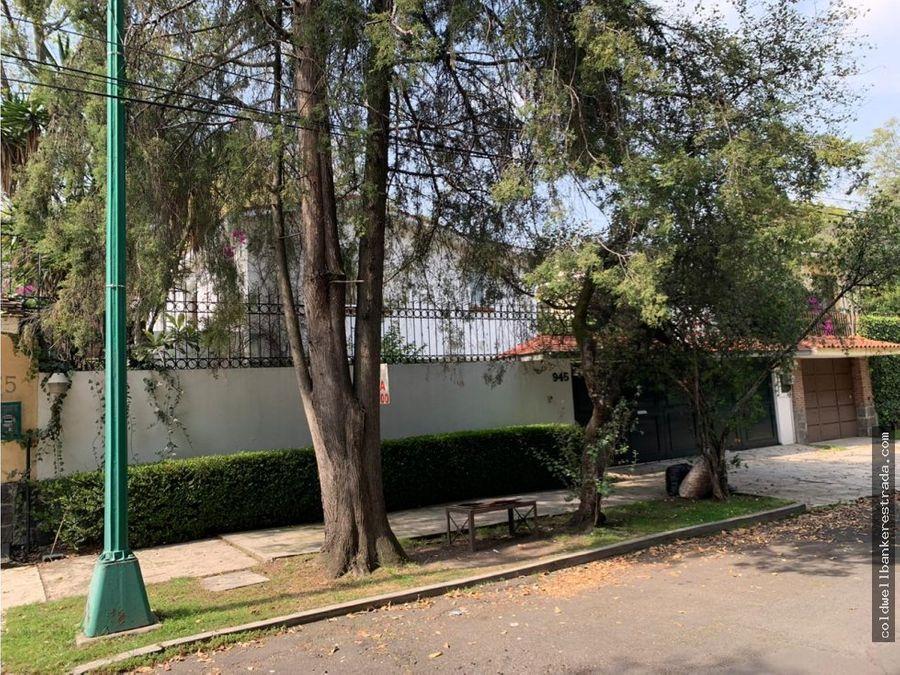 casa en renta en lomas de chapultepec