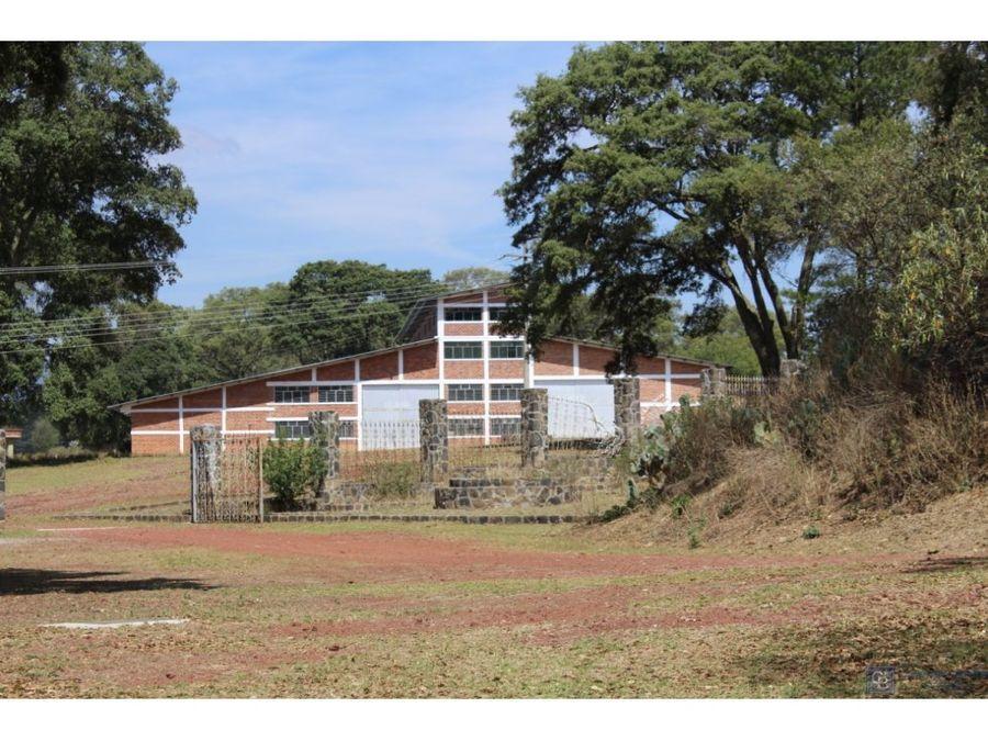 bodega industrial villa del carbon edo de mex
