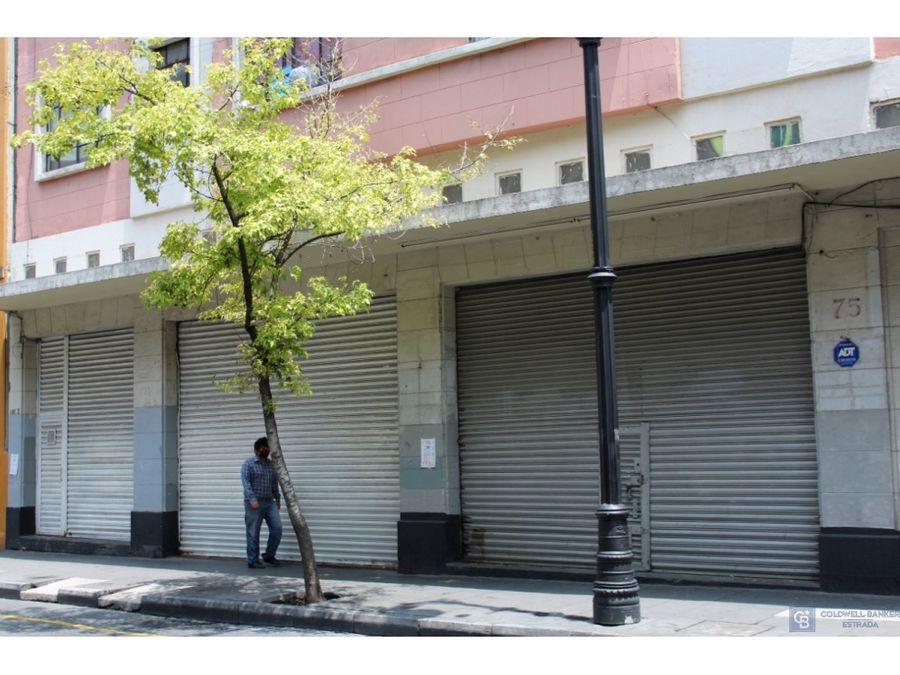 local comercial en venta col centro