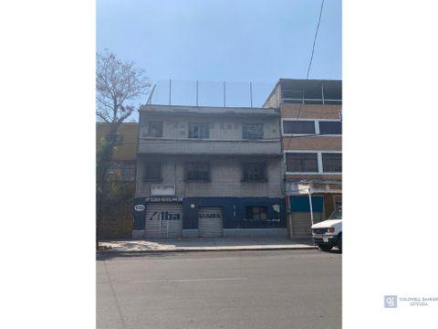 edificio con local en renta en gustavo a madero