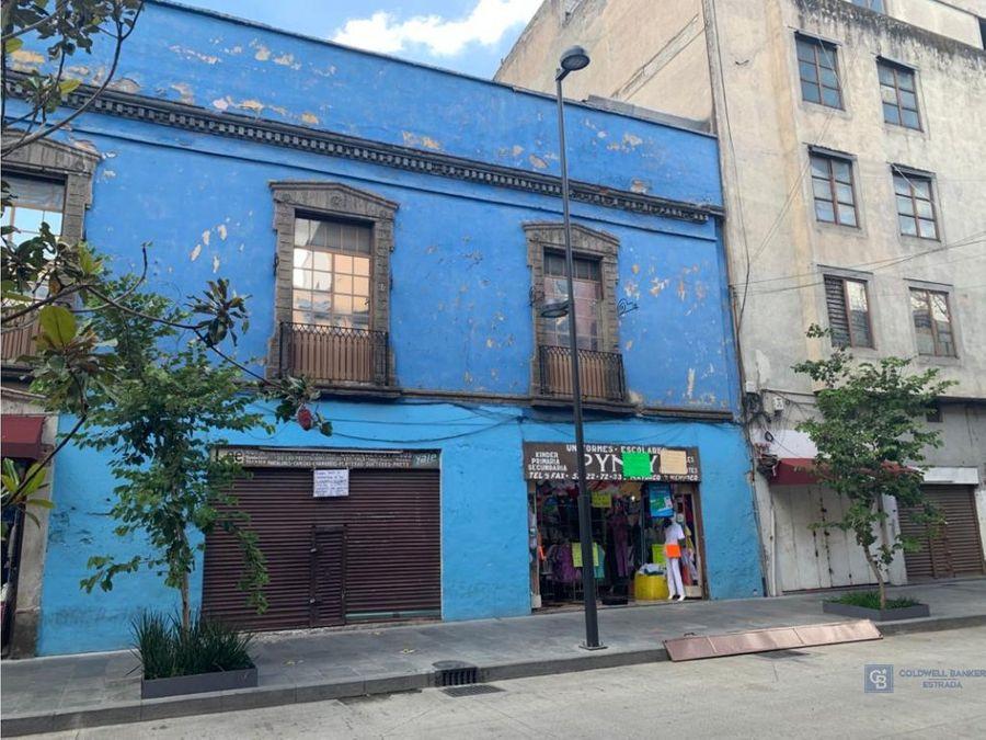 local comercial en centro historico traspaso