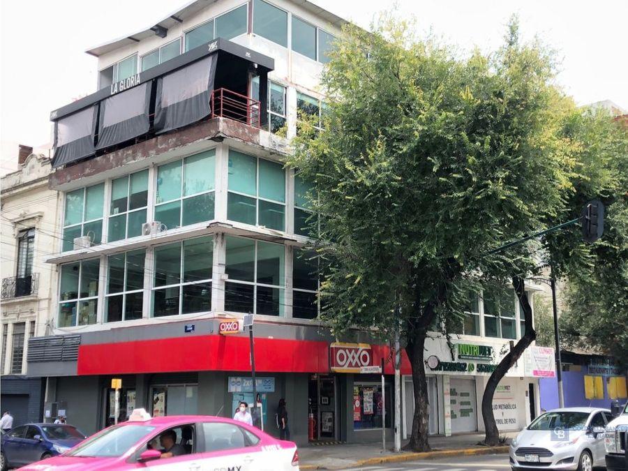 edificio en venta en insurgentes centro