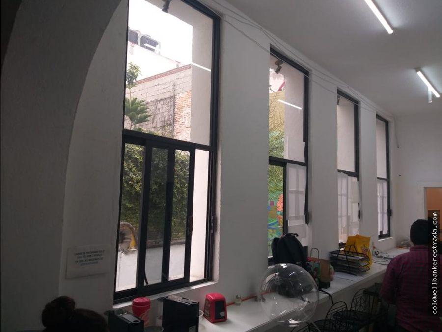 casa en renta roma norte con uso de suelo mixto