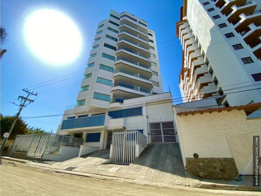 como nuevo apartamento bello horizonte santa marta en venta hg0031