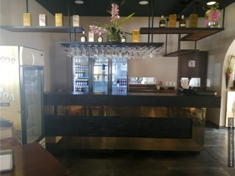 venta de excelente restaurante en centro historico de barranquilla