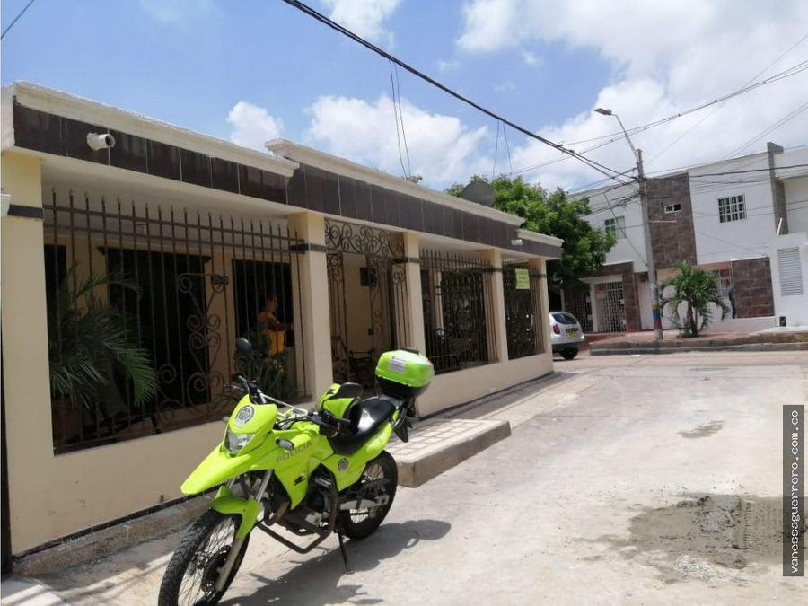 venta de casa con apartaestudio en el norte de barranquilla