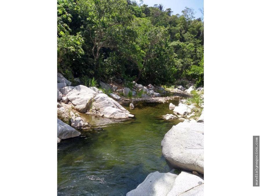 se vende lote ecoturistico cerca al parque tayrona hg0031