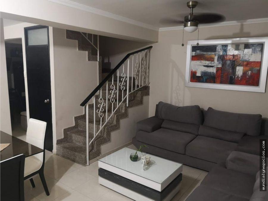hermosa casa de dos pisos en venta barrio concepcion barranquilla
