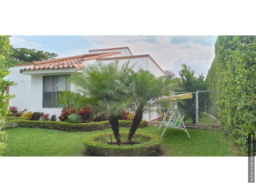hermosa y espectacular casa campestre en la morada met01
