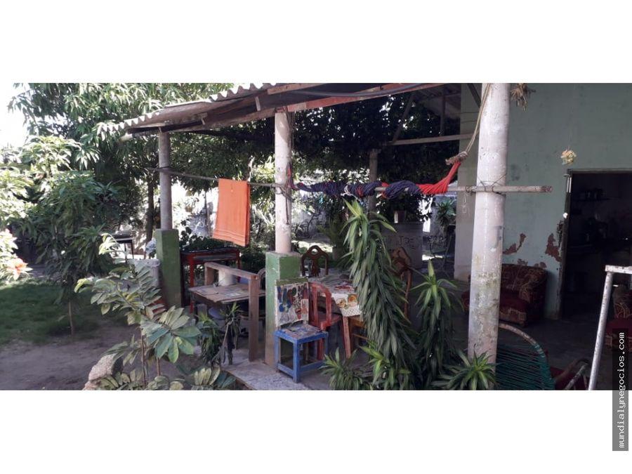 casa lote para proyecto de residencial y locales comerciales