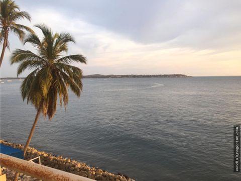 venta de fantastico apartamento en el laguito cartagena
