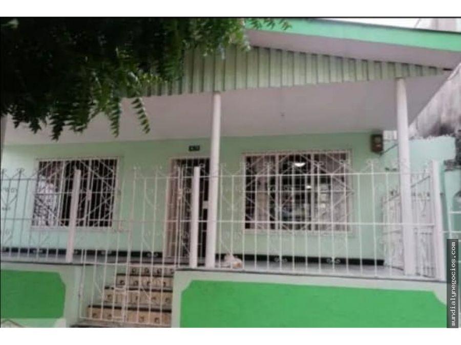 oportunidad de inversion casa lote en norte de barranquilla hg0036