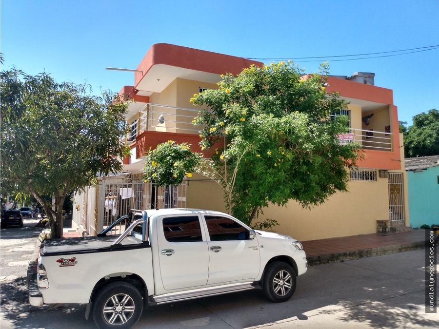 hermosa casa en venta con dos apartamentos incluidos