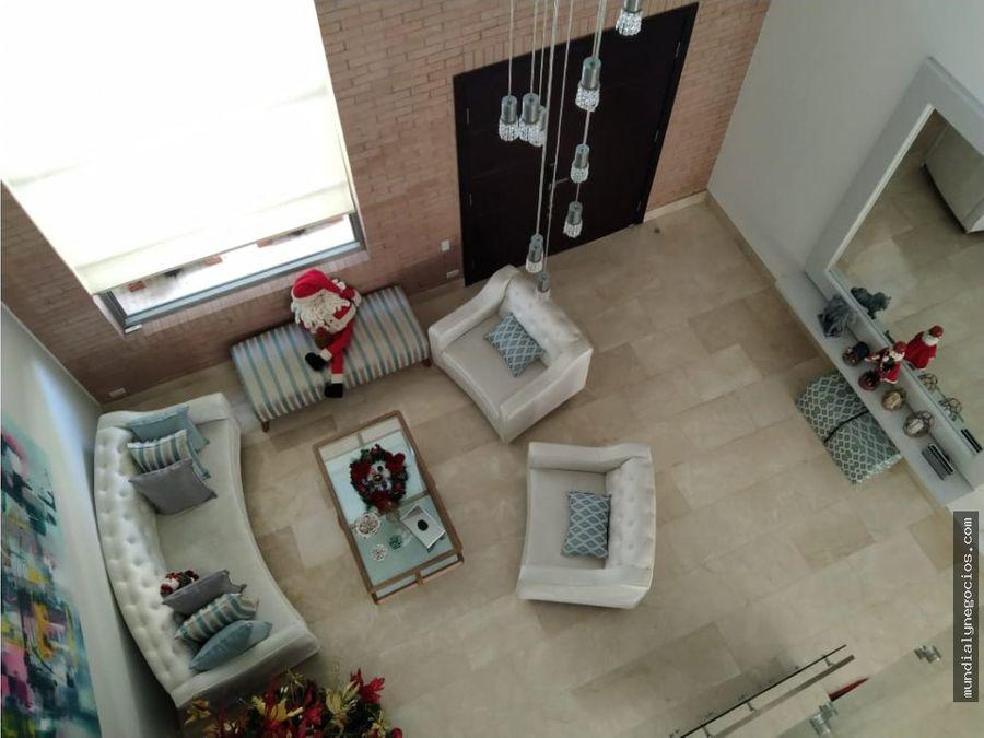 venta espectacular casa al norte barranquilla