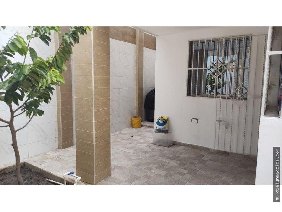gran oportunidad venta de casa barrio ciudad jardin de bquilla