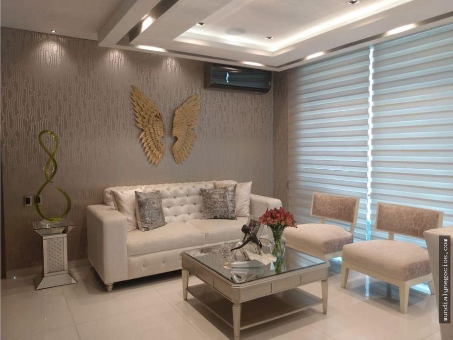 impecable apartamento en venta en altos del limon