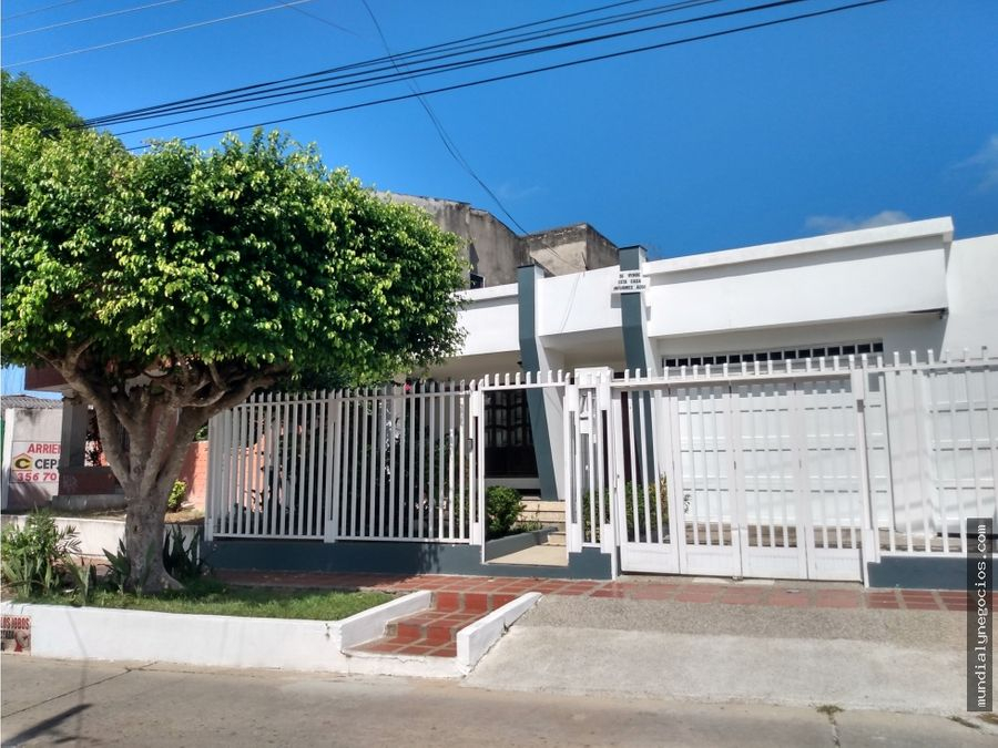 hermosa casa en venta sector residencial