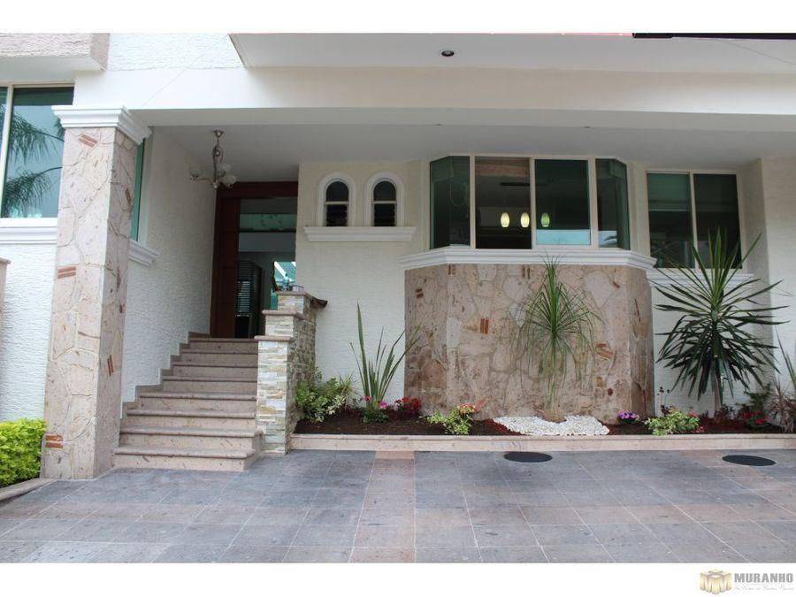 se vende residencia en bugambilias 1ra seccion