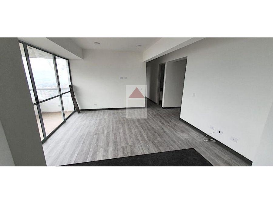venta de apartamento para estrenar en sabaneta sector las lomitas