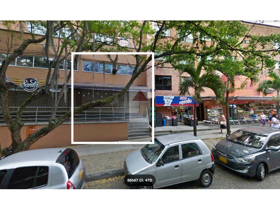 arrienda local comercial frente a la estacion del metro santa lucia