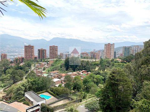 venta apartamento en el poblado sector parte alta del tesoro